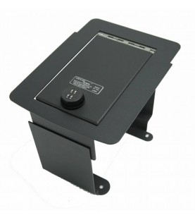 Lock'er Down Console Safe 2000_2007 Ford Super Duty, 2000 _2005 Excursion Model LD2017