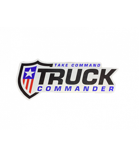 "Truck Commander 8"" Decal"